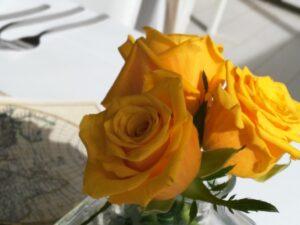 allestimento floreale per il matrimonio