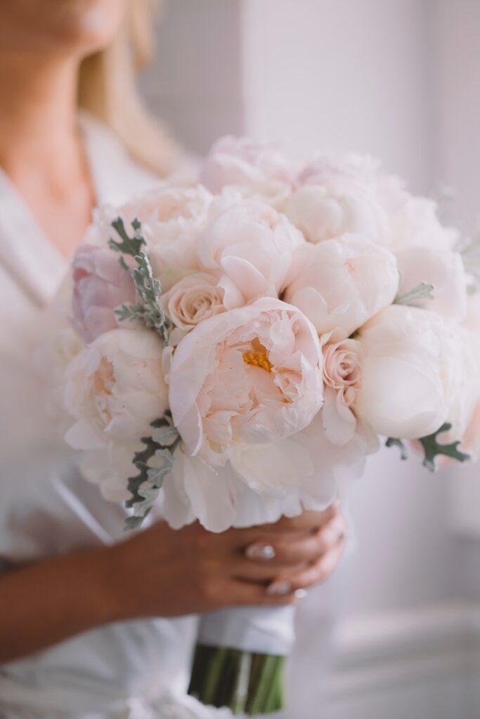 fiori per matrimonio melzo - peonie
